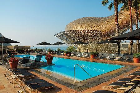 Sleek Hotel Arts Barcelona Royal Suite with staff, amenities & free Mini Cabrio - Image 1 - Barcelona - rentals