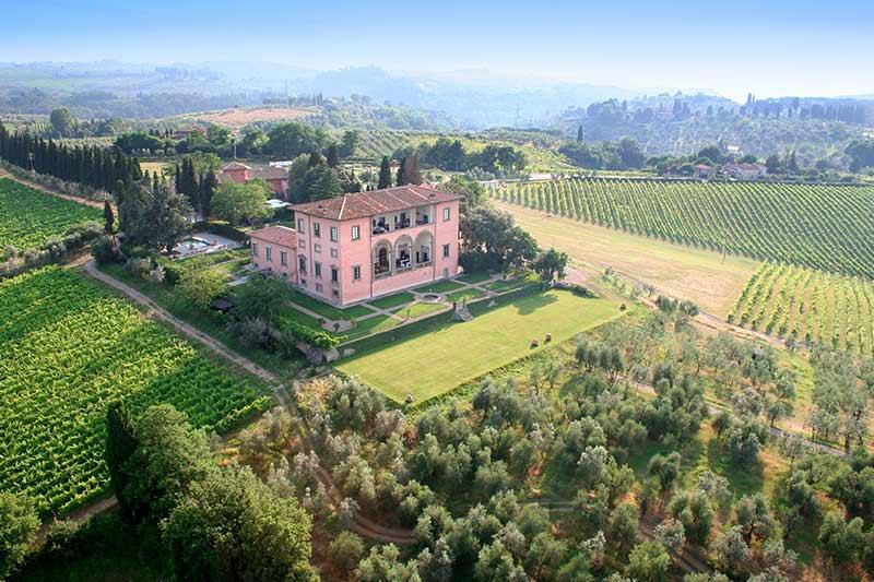 Villa Machiavelli, Sleeps 12 - Image 1 - San Casciano in Val di Pesa - rentals