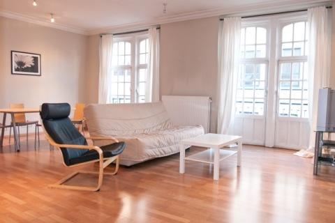 ID 2426 - Huge 1 Bdr Apt - steps from Av. Louise - Image 1 - Brussels - rentals