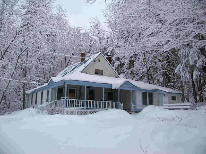 Little Brook House in winter - Little Brook House at Echo Lake - Ludlow - rentals