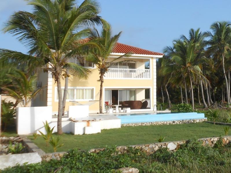 From the sea - Spectacular Ocean front Paradise - Las Galeras - rentals