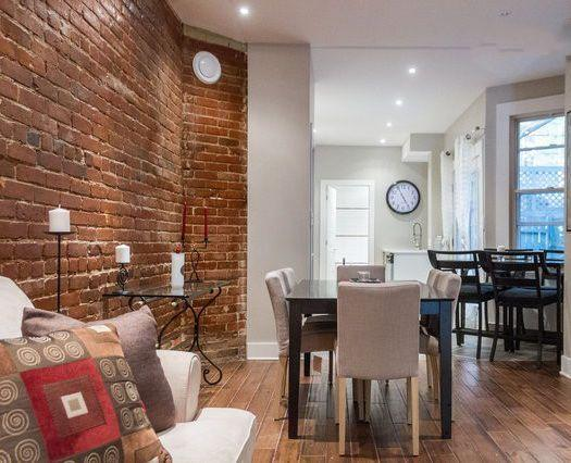Beautiful brick walls, Brazilian Wood Floors, Tasteful Decoration - Gorgeous! - Gorgeous 3+1 Bedroom Plateau condo! - Montreal - rentals