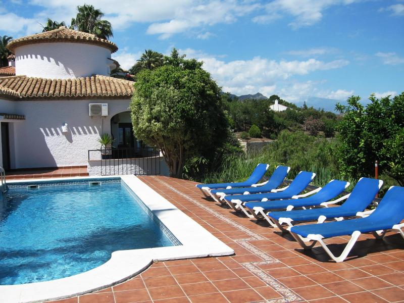 pool - Luxury Villa With Panormamic Sea & Mountain Views. Totally Renovated. - Salobrena - rentals