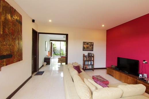 TV room - uma di taman, Bali private villa, Seminyak - Kuta - rentals