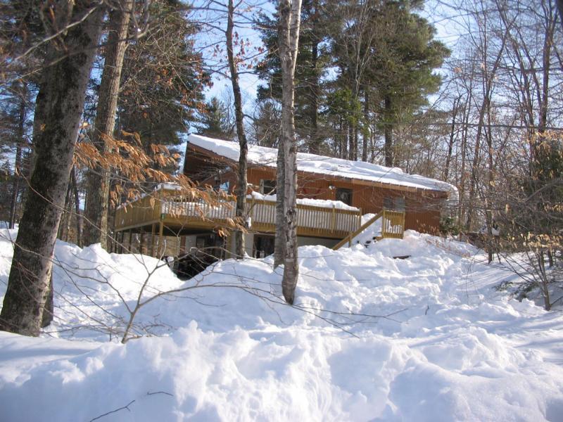 Lake Rescue Chalet in winter - 6 BR Ski House near Okemo, Killington - Ludlow - rentals