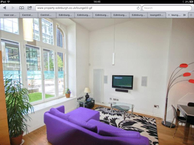 Lounge - Luxury city centre apartment - Carluke - rentals