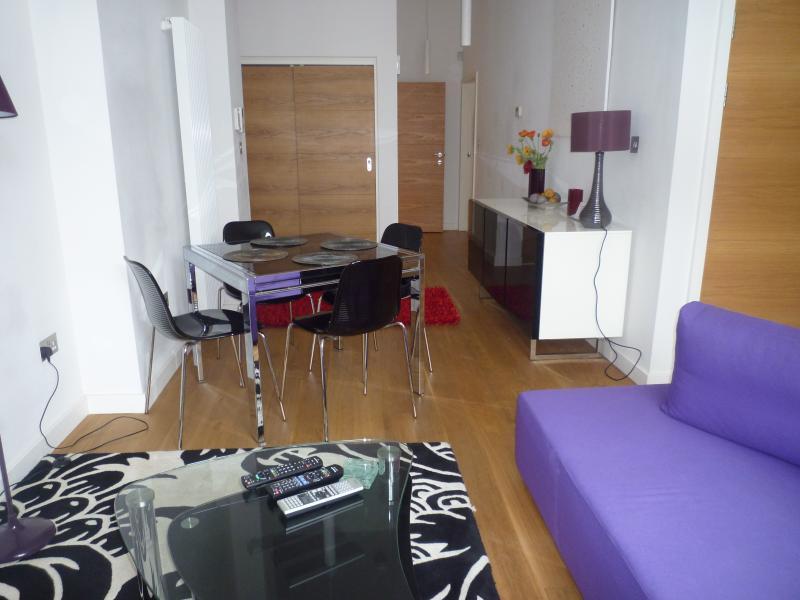 Lounge/diner large open plan  - Luxury city centre apartment Edinburgh - Edinburgh - rentals