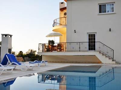 Villa Zulfa pool and balcony - Villa Zulfa Bellapais North Cyprus - Kyrenia - rentals