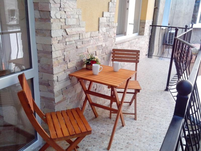Terrace - Austrian house with a terrace in Lviv - Lviv - rentals