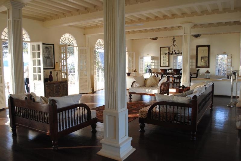 Living room - La Marelle House Manda Island Lamu Kenya - Lamu - rentals