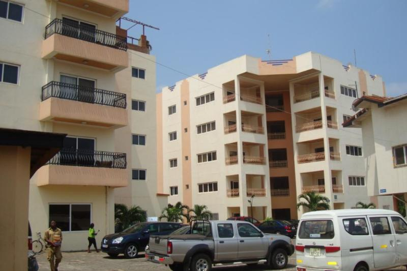 The Left Building has 1-BRM & 2-BRM Apts - T.N. Executive Airport Hotel Apts-{3-BRs} - Accra - rentals
