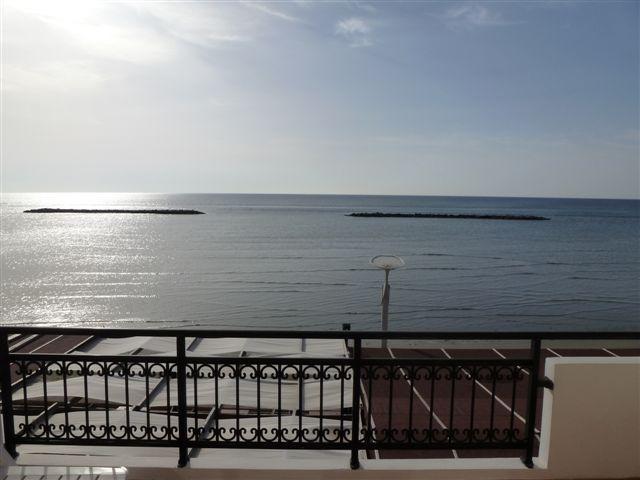 PBA 2 BDRM Front SeaView Apartment  Beach Larnaca - Image 1 - Oroklini - rentals