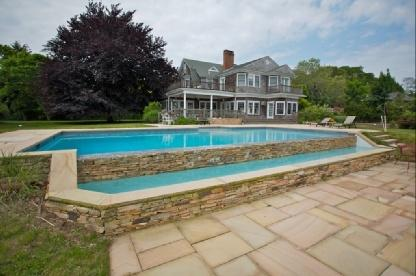Pool - Quogue Waterfront Estate with Pool & Jacuzzi - Quogue - rentals