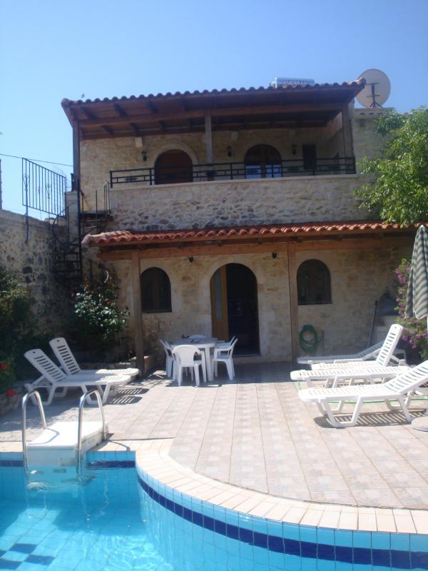 Patio - Villa Andriana in Rethymno, Crete, Greece - Rethymnon - rentals