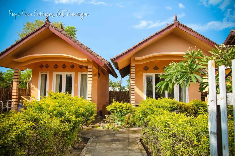 Selamat Datang and Welcome to Kupu Kupu Cottages on the tropical island of Gili Trawangan. - Kupu Kupu Cottages #1 on Gili Trawangan - Gili Trawangan - rentals
