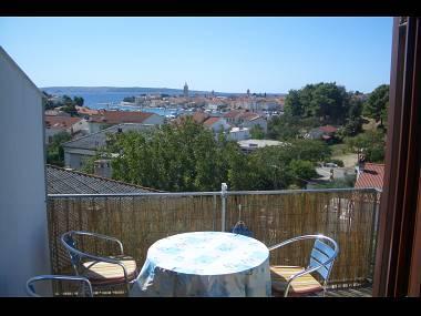 A1(2+2): terrace view - 8238  A1(2+2) - Palit - Rab - rentals