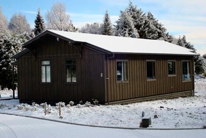 Front of Chalet - Alpine Park Mews - Ohakune - rentals