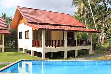 Front 70 m2 house - 2bedhouses with swimming-pool - Koh Phangan - rentals