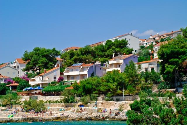 Obzor apartments Croatia - OBZOR holiday apartment on island Ciovo in Croatia - Okrug Gornji - rentals