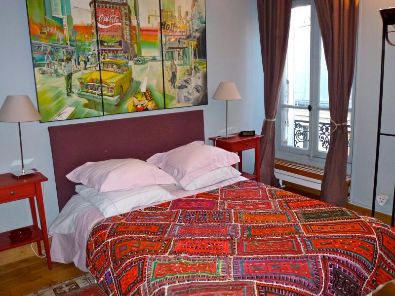 la chambre d'hôtes très calme (donne sur la cour) - Comfortable Apartment Close to Montmartre - Paris - rentals