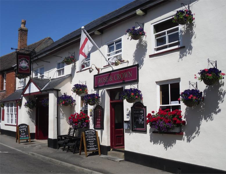 The Rose and Crown Inn - 16th Century Coaching Inn in rural Somerset, UK - Somerset - rentals