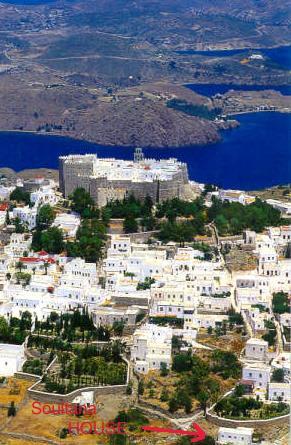 Overall view of Chora, Patmos - Patmos - Frances House - Patmos - rentals