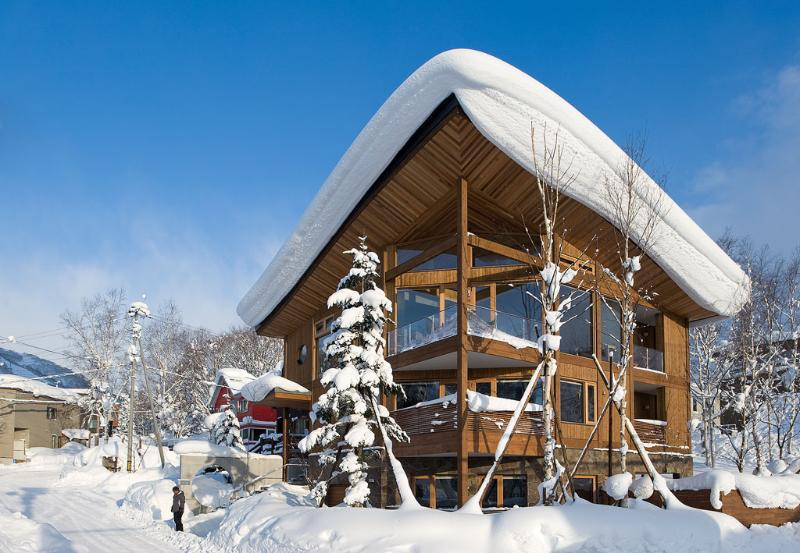 Niseko Boitiques Seshu - Exterior Snow - Seshu - Niseko luxury 5 bedroom accommodation - Niseko-cho - rentals