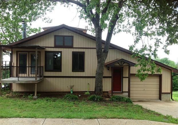 Exterior Front - Kaw Lake House - Kaw City - rentals