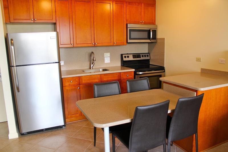 Newly renovated Kitchen - Waikiki Sunset/free parking/free internet - Honolulu - rentals