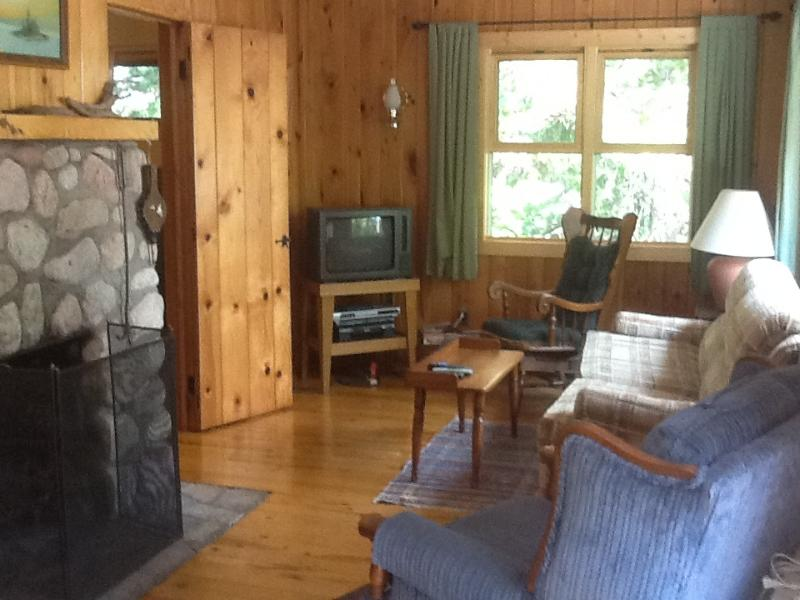 Living room - 3 Season Cabin near Ely, MN on Bear Island Lake - Babbitt - rentals