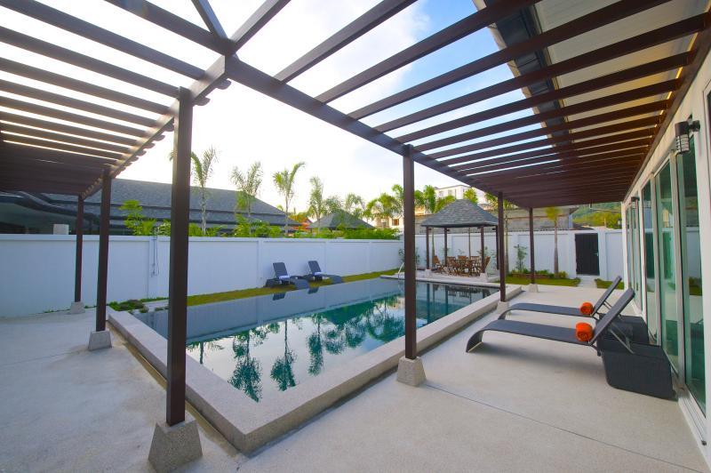 Modern 3 bedroom private pool villa in Kamala - Image 1 - Kamala - rentals