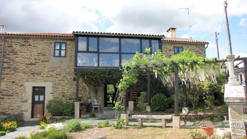 fachada de la casa - Casa Rural en Arzúa, Camino de Santiago - Zarzuela del Monte - rentals