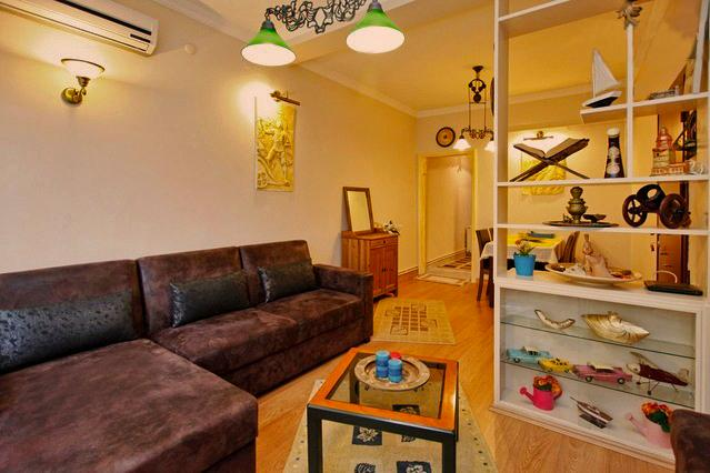 Living room - Nigar Palace, clean and cozy flat in Besiktas - Istanbul - rentals