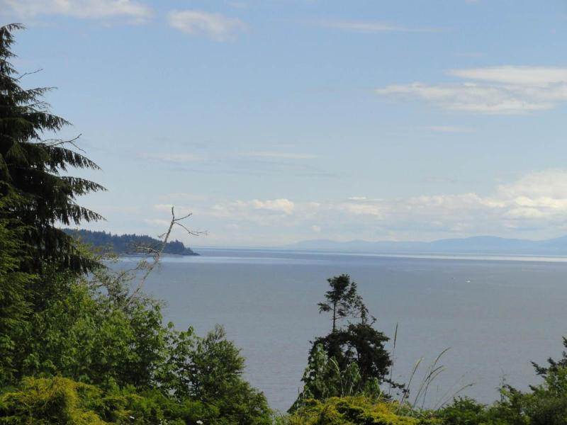 View Over Otter Point - Orveas Bay Oceanfront Cottage - Sooke - rentals