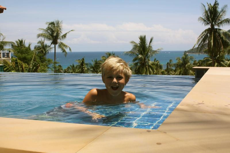 Family pool with seaview - Beautiful villa with seaview and private pool - Koh Tao - rentals