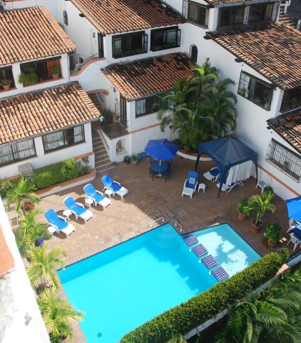 Arial view of Condo Complex - Large studio condo Old Town Puerto Vallarta - Puerto Vallarta - rentals