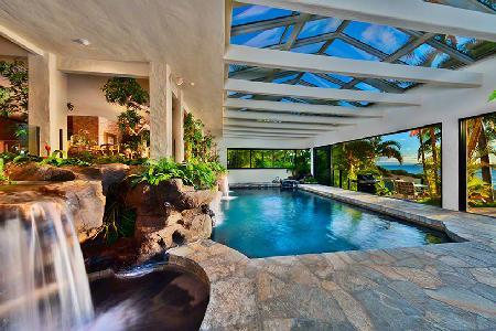 Hale O Wailele Estate - Waterfalls over Lava Rock and Jacuzzi, Spectacular Sunsets - Image 1 - Maui - rentals