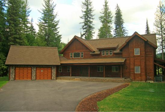 Nicklaus House in summer - Vacation Rental - Priest Lake, ID - Nicklaus House - Priest Lake - rentals