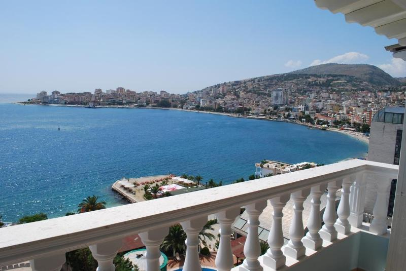 View of Saranda from the veranda - Balcony of Saranda - Albania - rentals