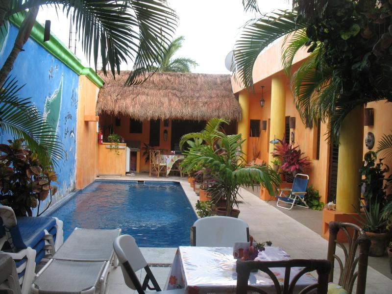 Pool Area - Villa Casita de Maya - Cozumel - rentals