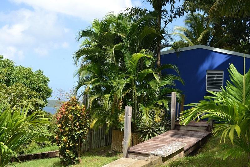 AZUR : bungalow en pleine nature - Magnifique bungalow vue mer et jacuzzi privé - Deshaies - rentals
