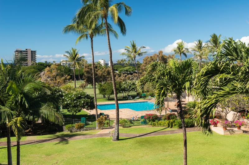 View from the Lanai - Heart of Kaanapali Resort - Kaanapali Royal #G302 - Ka'anapali - rentals