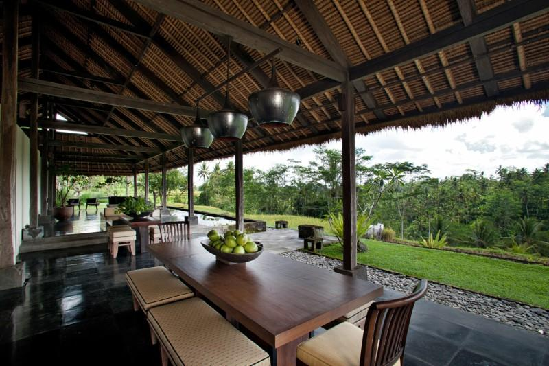 View from dinning area - Villa Kelusa - Ubud - rentals