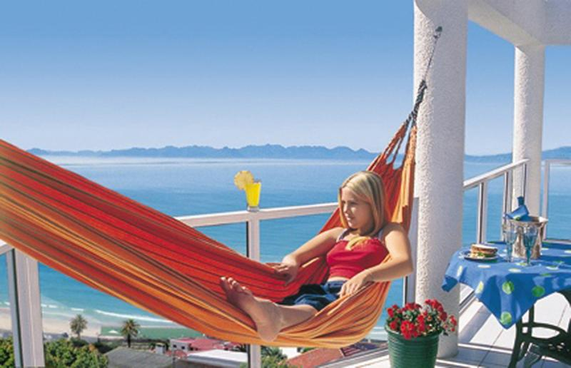 Crow's Nest Balcony view - Whale Watcher's Luxury Apartments @ Fish Hoek Bay - Cape Town - rentals