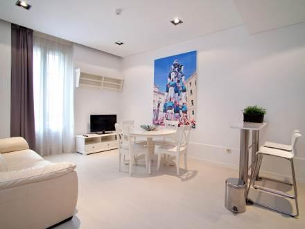 Living room - Arc de Triomf 1 apartment - Barcelona - rentals