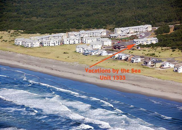 Vacations by the Sea - 1335 - Spacious top floor 2 bedroom condo with nice ocean view - Westport - rentals