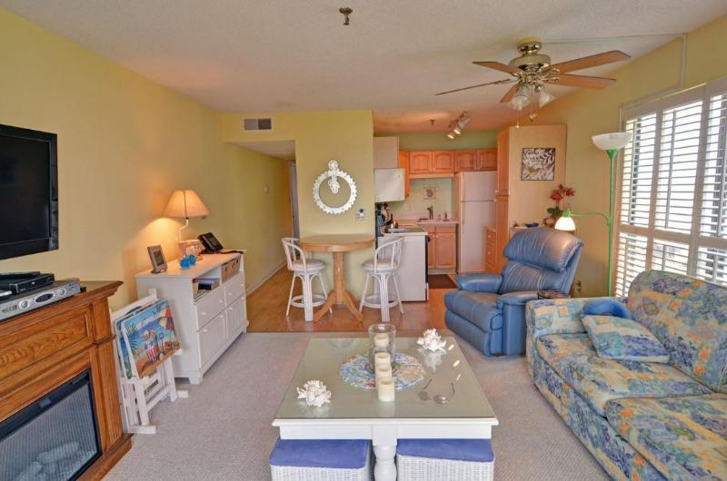 Living Area - Topsail Dunes 3300 -1BR_6 - Sneads Ferry - rentals