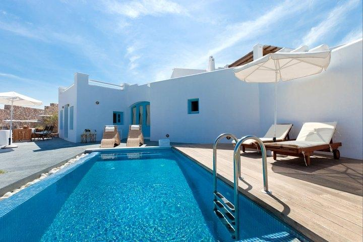 Livas - Villa in Santorini overlooking the sea - Image 1 - Santorini - rentals