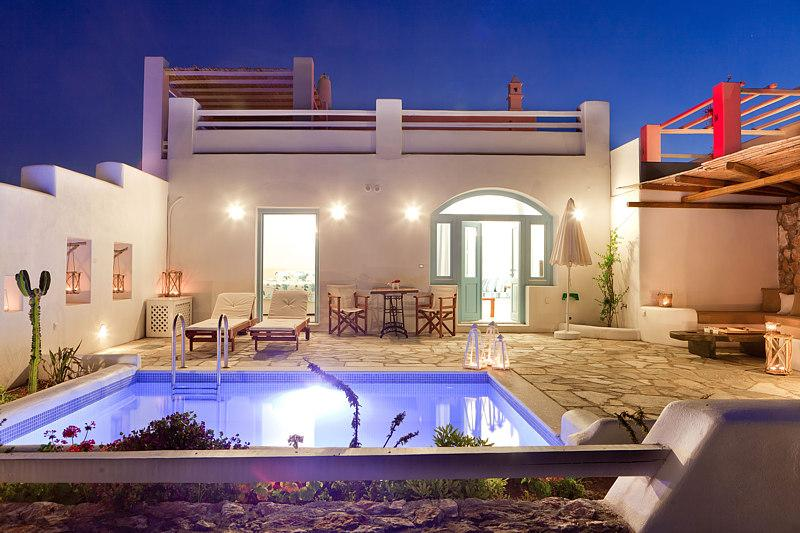 Exterior - Blue Villas | Zephyros | Spectacular new villa - Vourvoulos - rentals