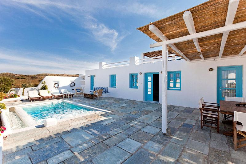 Exterior - Blue Villas | Skiron | Private Plunge pool - Vourvoulos - rentals